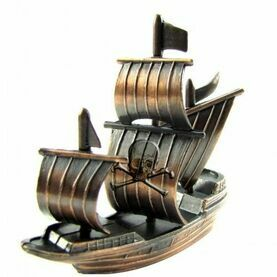 Nauticalia Pirate Ship Pencil Sharpener