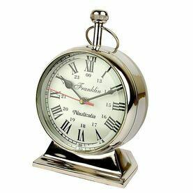 Nauticalia Chrome Franklin Pocket Watch Clock