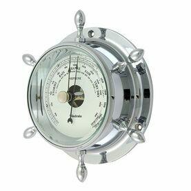 Nauticalia Chrome Neptune Barometer
