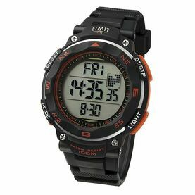 Limit Pro XR Countdown Watch - Black/Orange