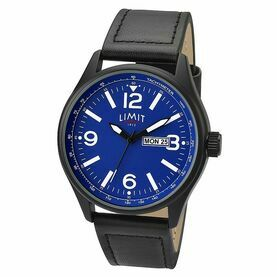 Limit Pilot Watch - Black/Blue