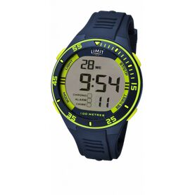 Limit Men\'s Digital Sports Watch - Navy