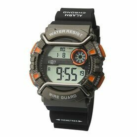 Limit WireGuard Digital Watch - Black/Orange