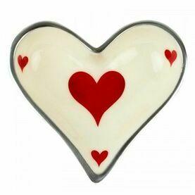 Nauticalia 'Hearts Card' Dish