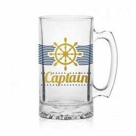 Nauticalia Glass Tankard - ''Captain''