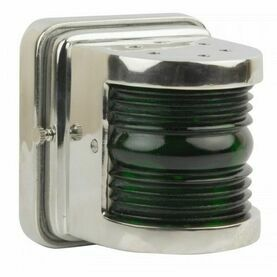 Nauticalia Navigation Wall Light - Starboard (Green)