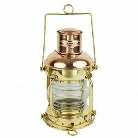 Nauticalia Brass & Copper Anchor Lamp - Electric
