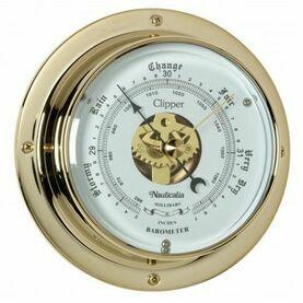 Nautialia Clipper Barometer (QuickFix) Brass