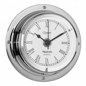 Nauticalia Clipper Clock (QuickFix) Chrome
