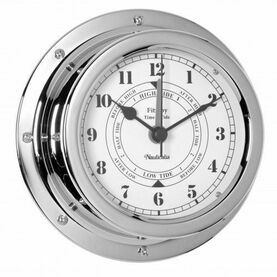 Nauticalia Fitzroy Tide Clock (QuickFix) Chrome