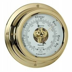 Nauticalia Waterproof Barometer (QuickFix) Brass