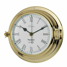 Nauticalia London Tarnish-free Clock - Brass