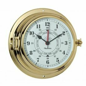 Nauticalia London Tide Clock - Brass