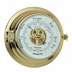 Nauticalia London Barometer -Brass