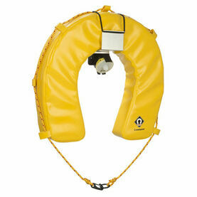 Crewsaver Hamble Horseshoe Lifebuoy, Bracket & Light Set