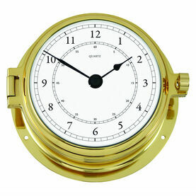 Talamex Series 160 Solid Brass Clock