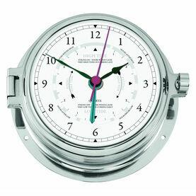 Talamex Series 160 Solid Brass Chrome Plated Tide Clock
