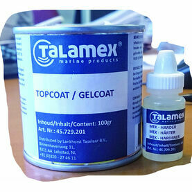 Talamex Topcoat Transparent 100Grams + 6Grams Hardener