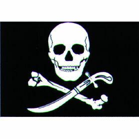 Talamex Pirate Flag 30cm x 45cm