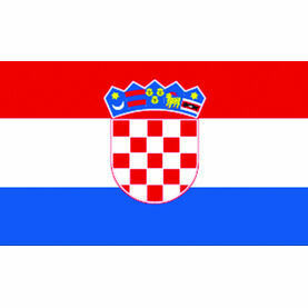 Talamex Croatia Flag (20cm x 30cm)