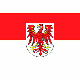 Talamex Brandenburg Flag (20cm x 30cm)