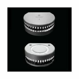 Lopolight - 3nm 225° White. Masthead w/decklight w/0.7 metre cables