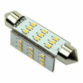 Talamex S-LED 27 Festoon 10-30V 42mm 2700K