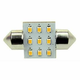 Talamex S-LED 9 Festoon 10-30V 31mm 2700K