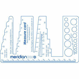Meridian Zero Multi Measure (pipe, rope & wire gauge)