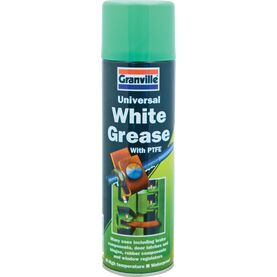 Granville White Grease with PTFE Spray - 500ml Aerosol