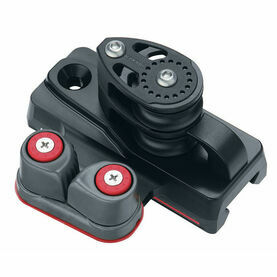 Harken 32 mm ESP End Control Double Sheave, Cam Cleat, Set of 2