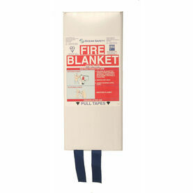Ocean Safety Fire Blanket Slim Pack MCA 1.8mt x 1.2mt