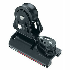 Harken 22 mm Adjusterustable CB Car Two-Sheave, 4:1