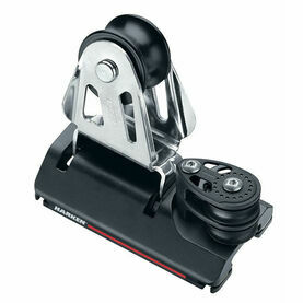 Harken 22 mm ESP Adjusterustable CB Car Two-Sheave, 4:1