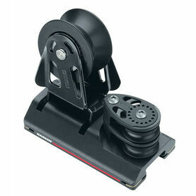 Harken 27 mm Adjusterustable CB Car 2 Sheave, 4:1