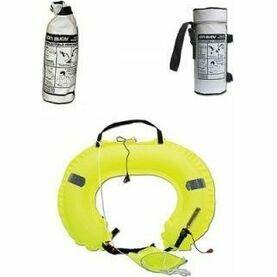 Ocean Safety Jonbuoy Inflatable Horseshoe - Single