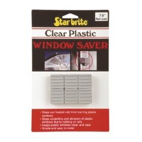 Clear Plastic Window Savers  - 6pk