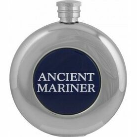 Nauticalia Round Hip Flask