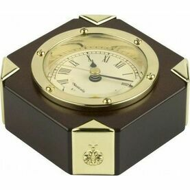 Nauticalia Clock in wooden stand