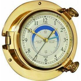 Nauticalia Brass Cabin Tide Clock