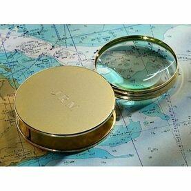 Nauticalia Navigator's Brass Magnifying Glass