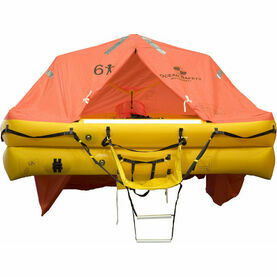 Ocean Safety UltraLite 6 Person Carbon Canister Liferaft
