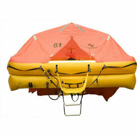 Ocean Safety UltraLite 8 Person Carbon Canister Liferaft