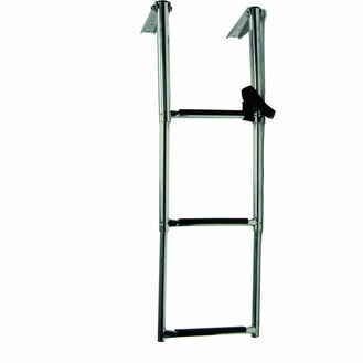 Talamex Steel Telescopic Ladder Platform (4 Step)