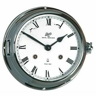 Schatz Royal Mariner Clock - Chrome