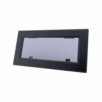 Lewmar Size 1 Flush Mitre Portlight (Dark Grey Acrylic)