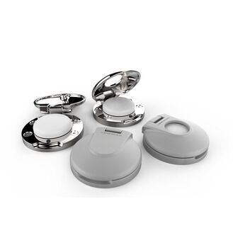 Lewmar Deck Switch Mirror Polished - Open
