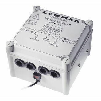 Lewmar Switch Box 24/48V - Negative switching