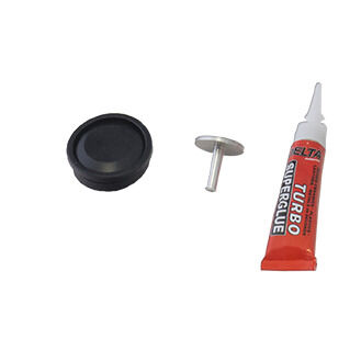 Lewmar Rubber button and plunger kit