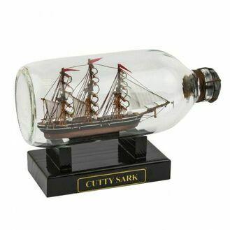 Cutty Sark Ship in Bottle - 19cm